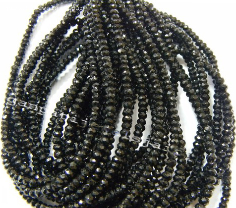 quality Multi Precious Faceted Rondelle Beads   Precious Multi Beads  Multi Rainbow Beads 3.5mm  Multi Sapphire Beads   Wholesale Beads AAA