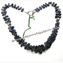 iolite silver beaded necklaces jewelry