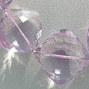 pink amethyst Gemstone beads