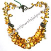wholesale gemstone silver beaded necklaces