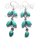 wholesale gemstone silver Earrings