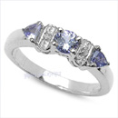 online tanzanite Gemstone silver jewelry